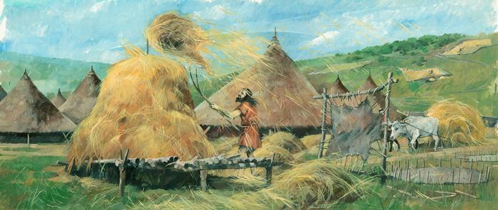 Bronze Age illustration