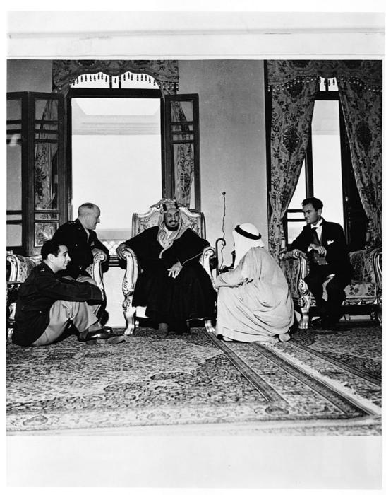 King Abdul Aziz ibn-Saud of Saudi Arabia