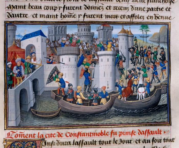 Capture of Constantinople by the Crusaders
