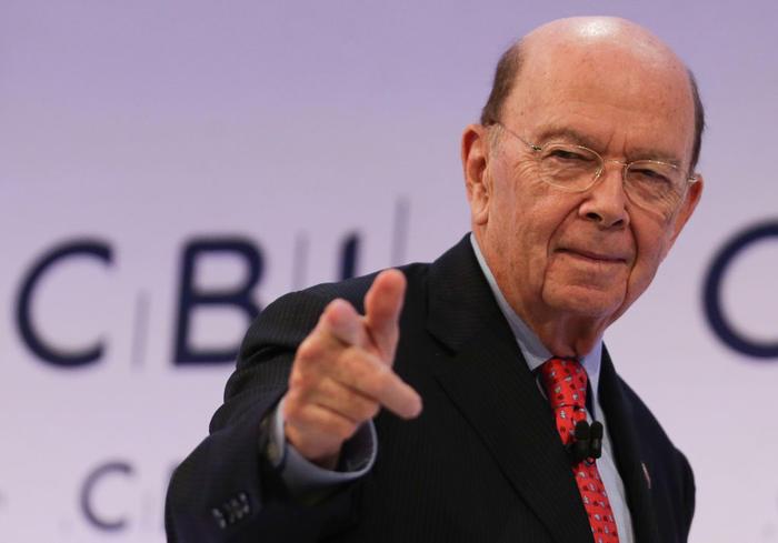 US Secretary of Commerce Wilbur Ross