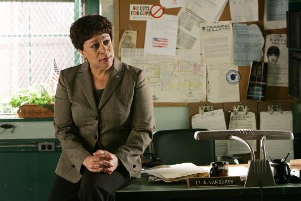 Lt. Anita Van Buren from 'Law & Order'