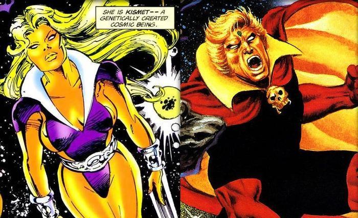 Kismet Guardians Of The Galaxy comic book