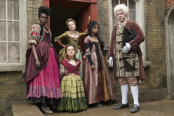 Some of the cast from Season 2 of 'Harlots'