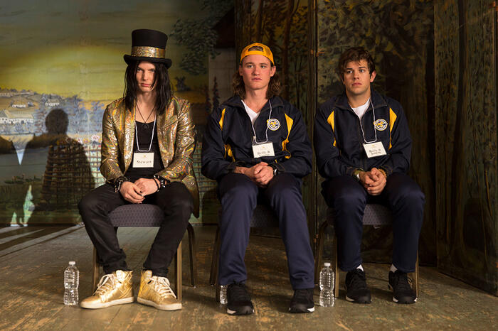 Tyler Johnston, Dylan Playfair and Andrew Herr