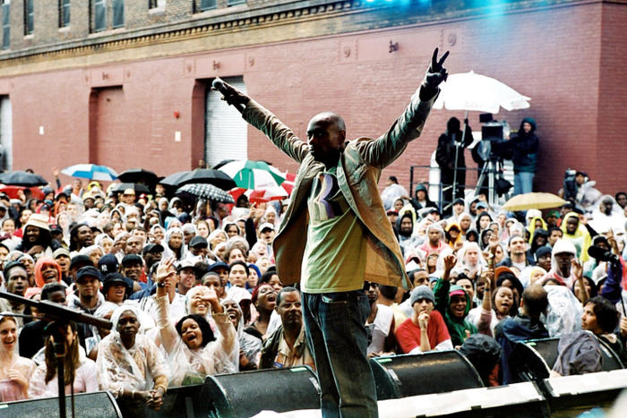BLOCK PARTY (aka DAVE CHAPELLE'S BLOCK PARTY), Dave Chapelle, 2006, ©Focus Films/Everett Collection