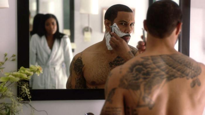 Being Mary Jane shaving