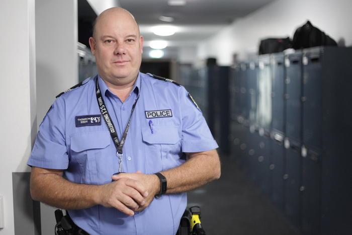 Senior Constable Jamie Thomson Behind the Blue Line
