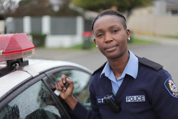 Constable Jane Smith Behind the Blue Line