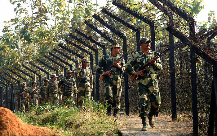 Indian Border Security Force personnel p