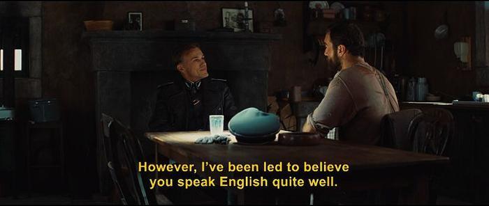 Inglourious Basterds subtitles