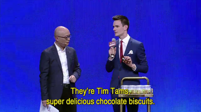 If You Are The One Tim Tams