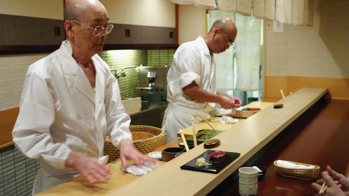 Jiro Ono and his son Yoshikazu Ono