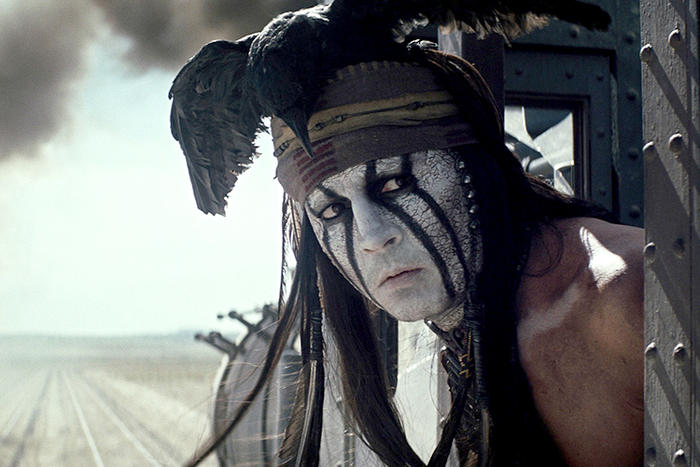 Johnny Depp Lone Ranger