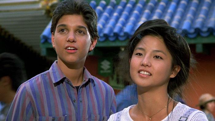 Tamlyn Tomita Ralph Macchio The Karate Kid Part II