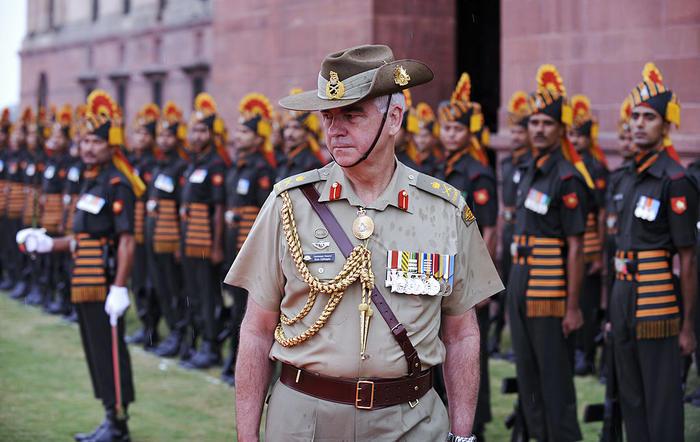 Australian Army Chief Ken J. Gillespie