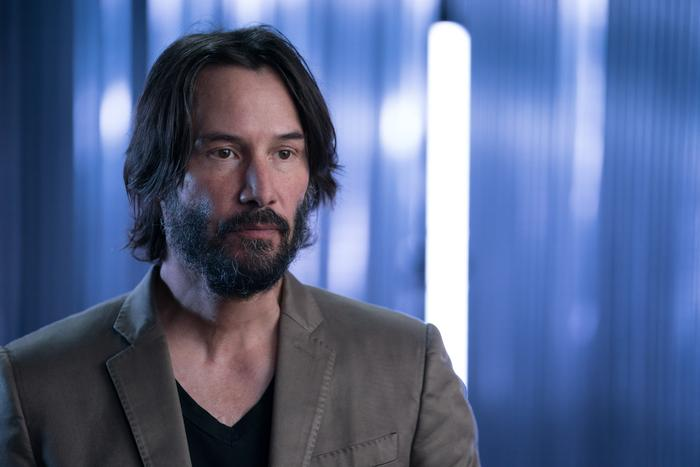 James Cameron's Story of Science Fiction, Keanu Reeves