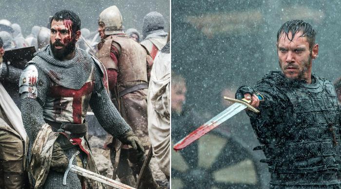 Knightfall Tom Cullen Vikings Jonathan Rhys Meyers