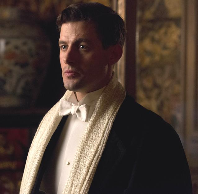 Larry Grey in Downton Abbey