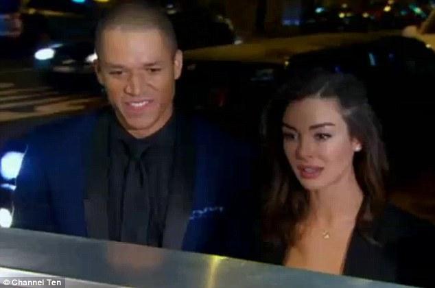 Blake and Laurina on The Bachelor