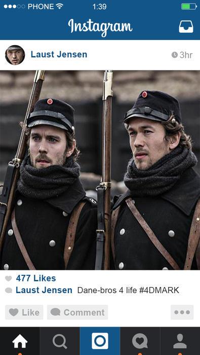 1864 Denmark's War Instagram Laust