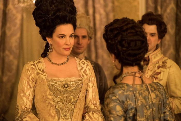 Liv Tyler as Lady Isabela Fitzwilliam in 'Harlots'