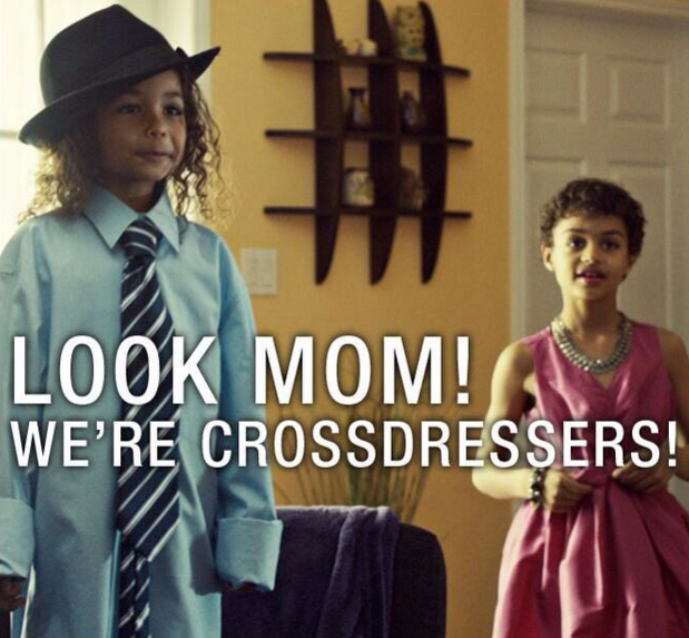 Orphan Black crossdressers