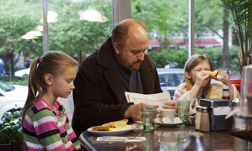 Louie and kids