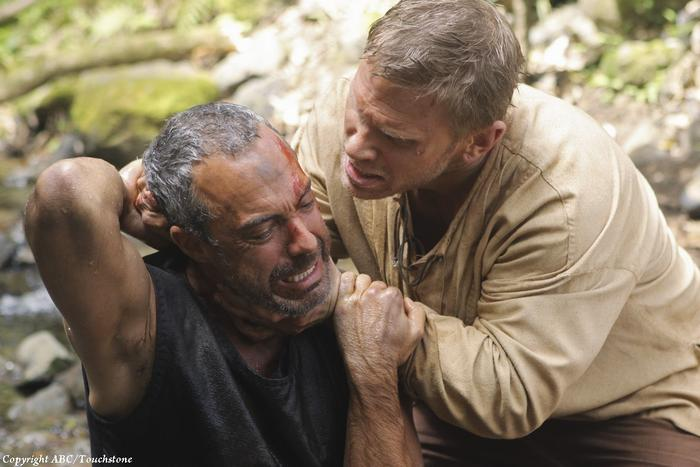"LOST - ""Across the Sea"" - The motives of John Locke are finally explained, on ""Lost,"" TUESDAY, MAY 11 (9:00-10:00 p.m., ET) on the ABC Television Network. (ABC/MARIO PEREZ)TITUS WELLIVER, MARK PELLEGRINO"
