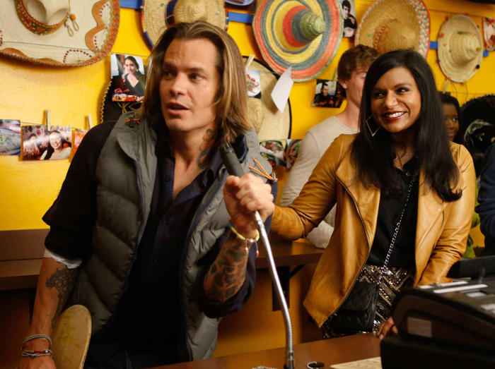 The Mindy Project Timothy Olyphant