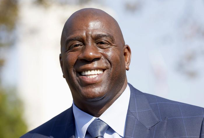 Magic Johnson, LA Lakers, basketball player, HIV virus