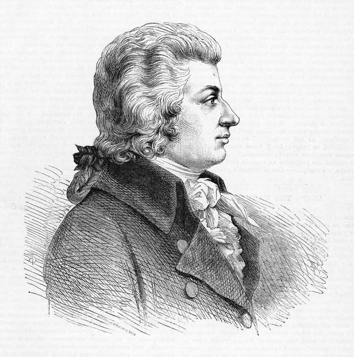 WOLFGANG AMADEUS MOZART  Austrian composer        Date: 1756 - 1791