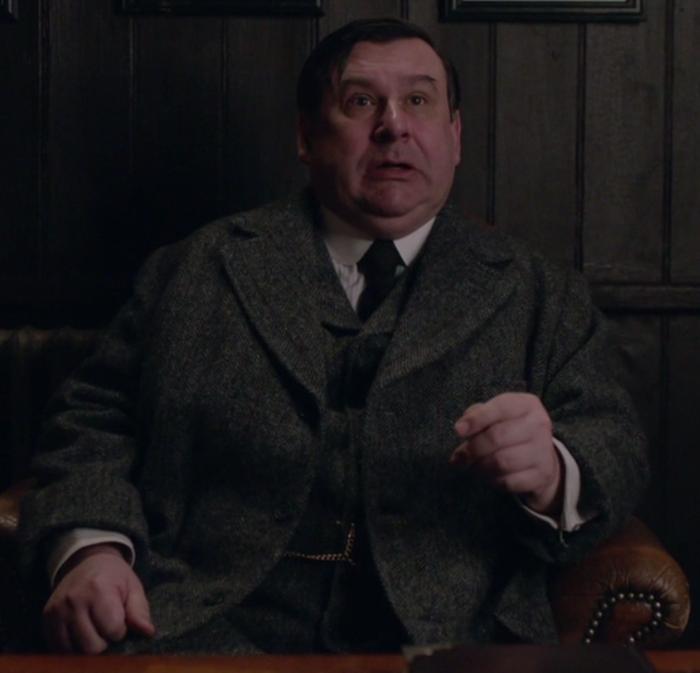 Mr Skinner in Downton Abbey