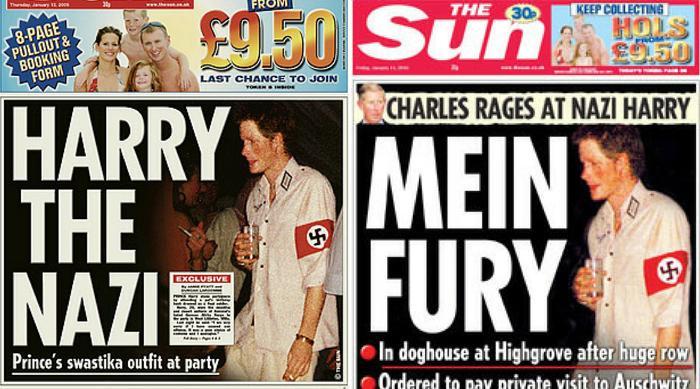 Resultado de imagen de prince harry nazi