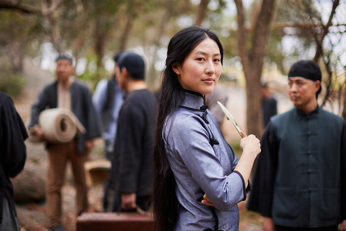 Mabel Li as Lei in New Gold Mountain