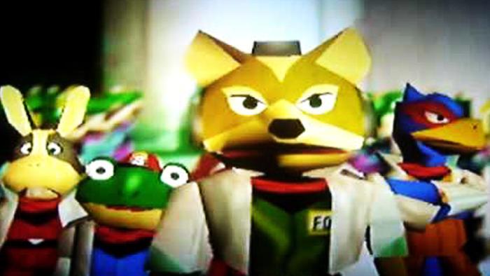 Fox McCloud from Nintendo