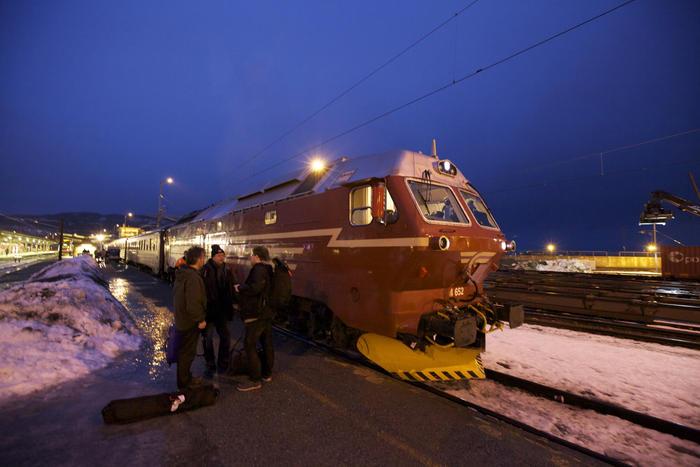 Slow TV, Nordlandsbanen Train Journey