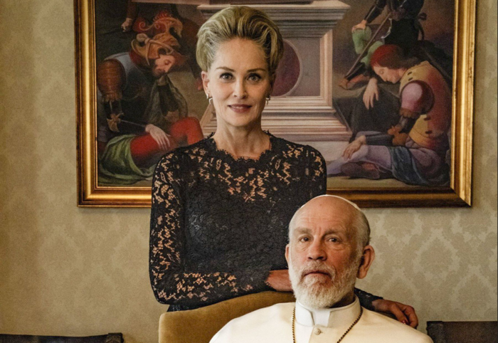 The New Pope, John Malkovich, Sharon Stone