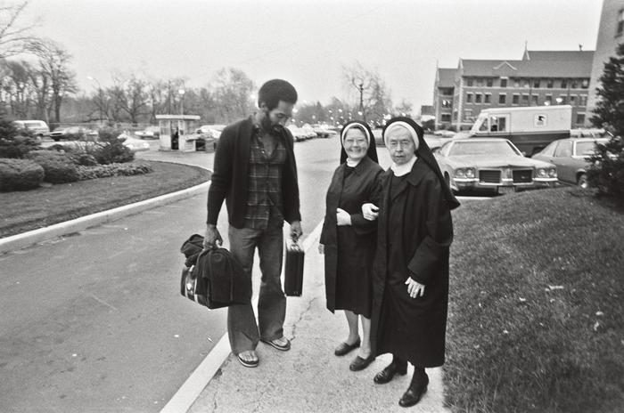 OJ with nuns