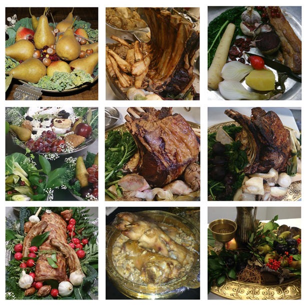 vikings season 4 various food