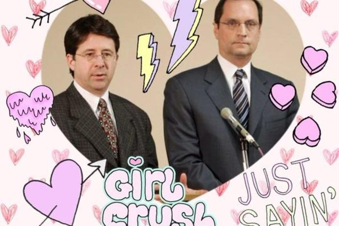 One of a legion of swooning tributes to lawyers Dean Strang and Jerome Buting of Making a Murderer.