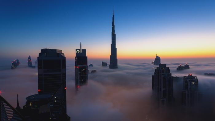 Origins: The Journey of Humankind skyscrapers
