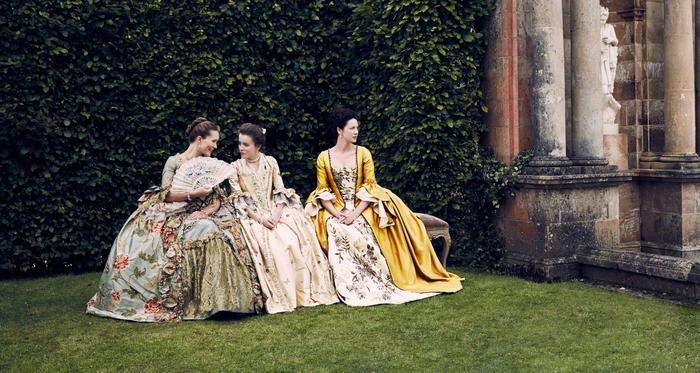 Outlander dresses