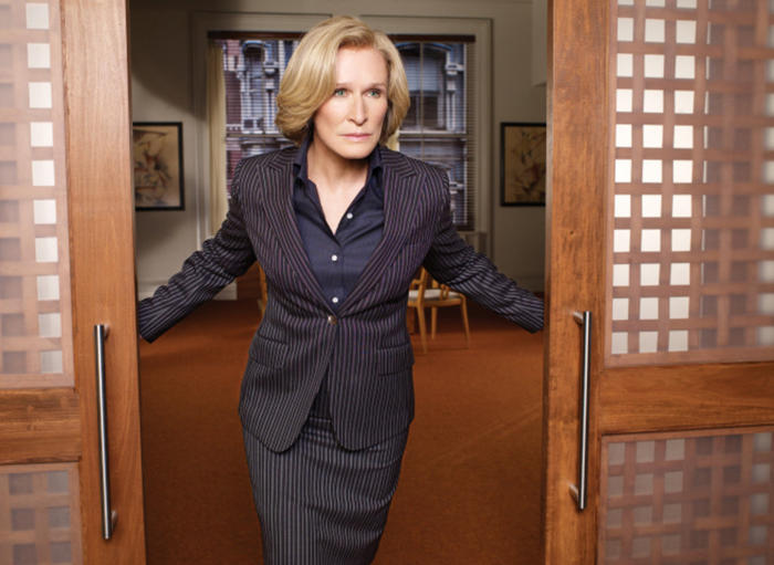 [Caption: Patty Hewes: Queen Bee, Damages. Photo Credit: FX]