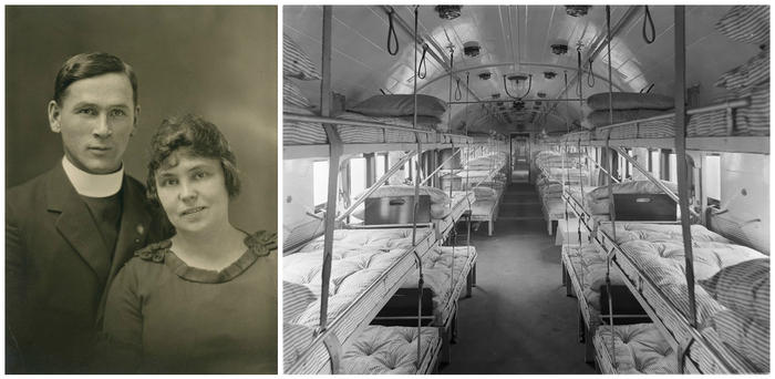 Marion Leane Walls World War I nurse