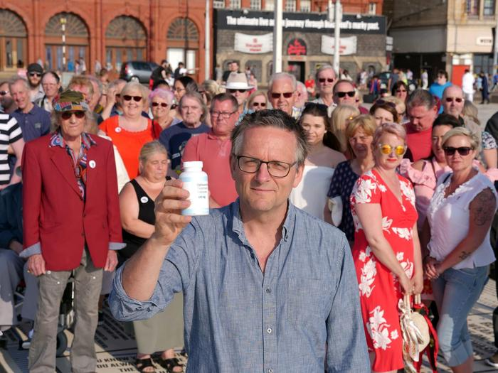 Michael Mosley placebo experiment
