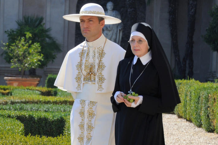 Jude Law Diane Keaton The Young Pope