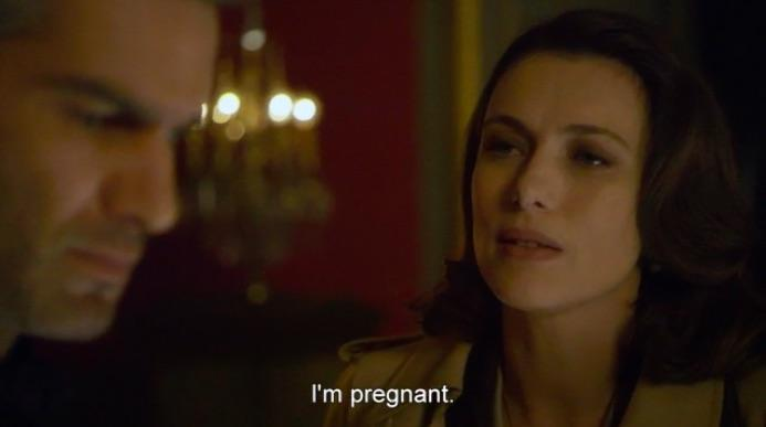 hard pregnant