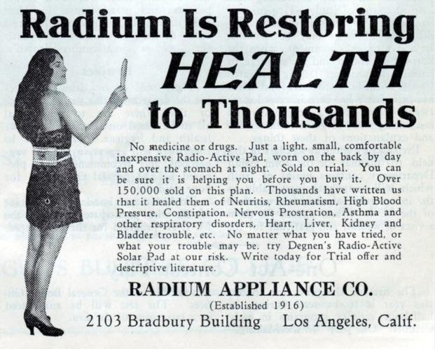 radium ad