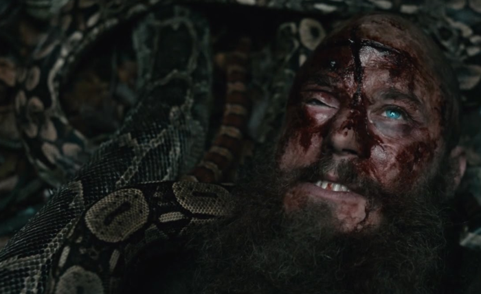 Ragnar in the serpents' pit