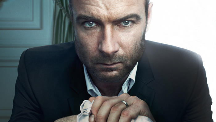 [Caption: Dead serious, Ray Donovan. Photo Credit: Showtime]